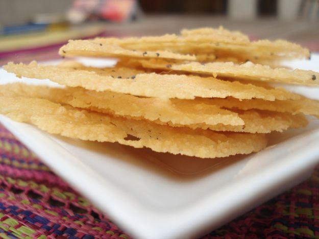Ricetta chips di parmigiano reggiano