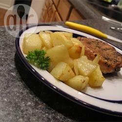 Patate e cipolle arrostite piccantine