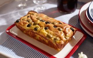 Ricetta cake alle olive e granmix al pecorino