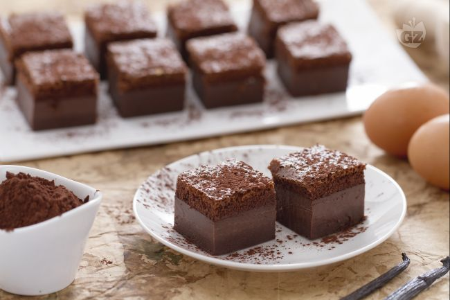 Ricetta torta magica al cacao