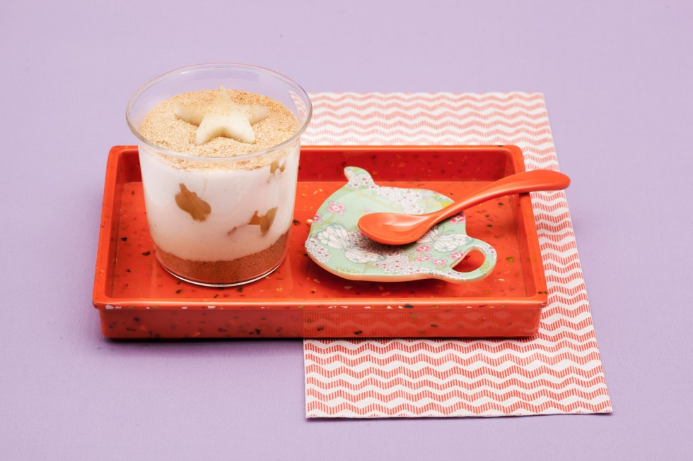 Ricetta bicchierini di crema morbida al riso e latte