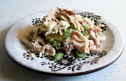 Insalata di pollo al tartufo