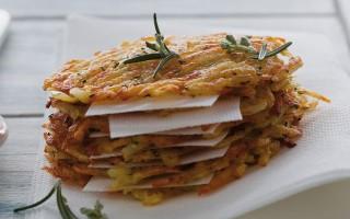Ricetta rösti di patate ai germogli di rosmarino