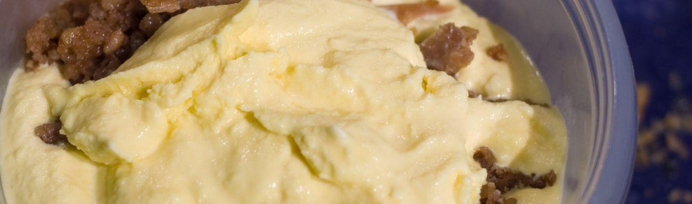 Ricetta gelato allo zafferano con caramello