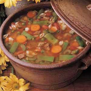 Ricetta minestrone al pesto