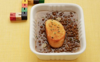 Ricetta zuppa di pane e lenticchie