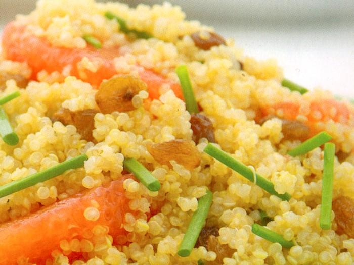 Insalata di quinoa e pompelmo