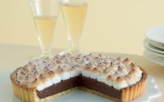 Ricetta crostata meringata con crema di cioccolato