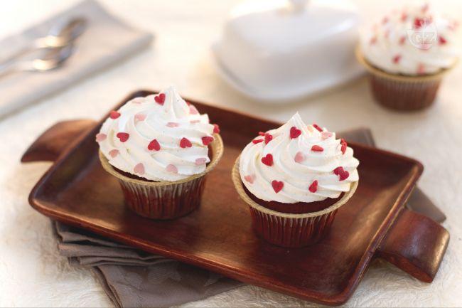 Ricetta red velvet cupcake