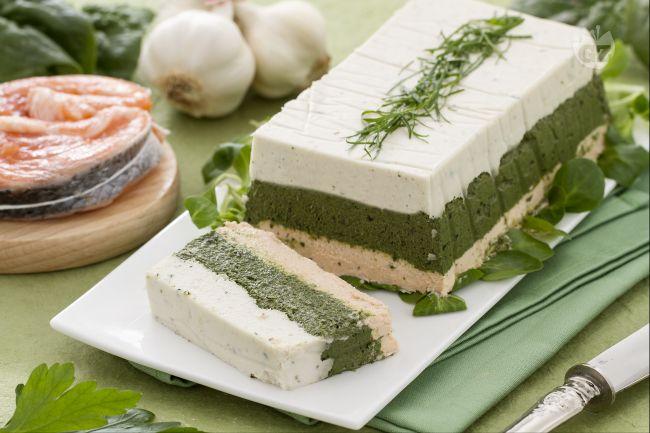 Ricetta terrina di pesce e spinaci