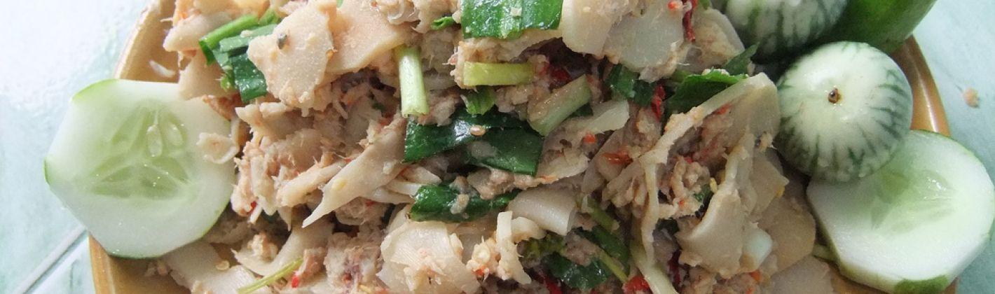 Ricetta insalata di bambù