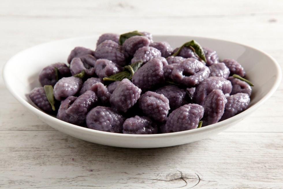 Ricetta gnocchi di patate viola