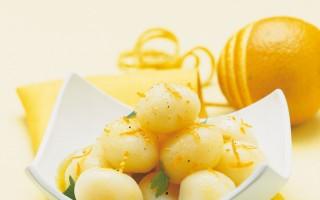 Ricetta patate novelle con salsa all'arancia