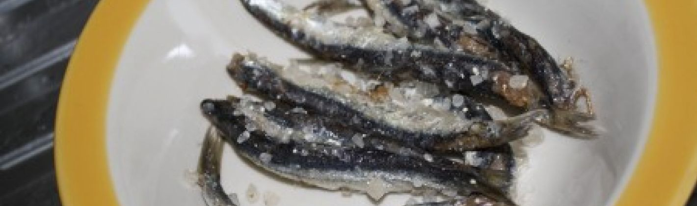 Ricetta acciughe sotto sale