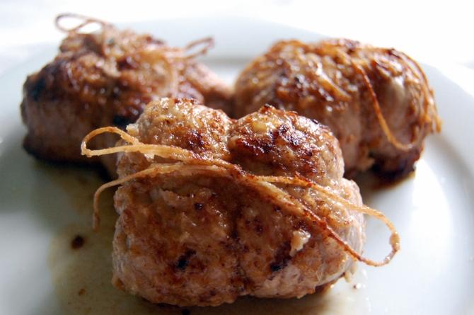 Fagottini di maiale al tartufo