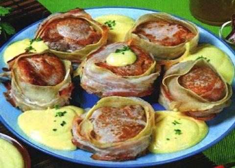 Filetto di vitello con salsa di senape