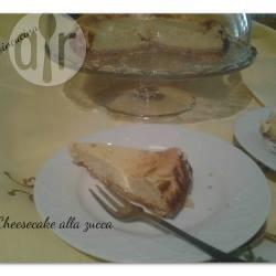 Cheesecake alla zucca e robiola