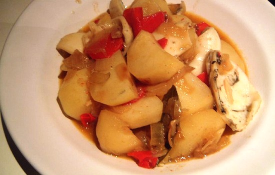 Seppie con le patate