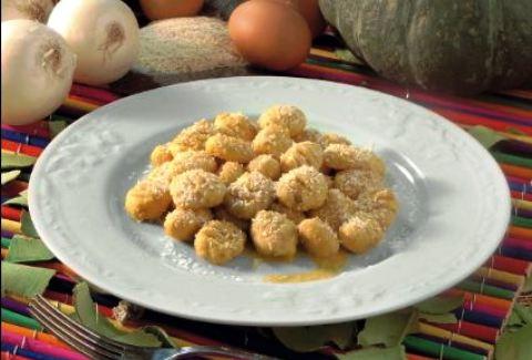 Gnocchi di semolino e zucca