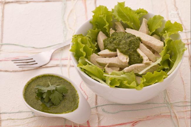 Ricetta pollo in salsa verde