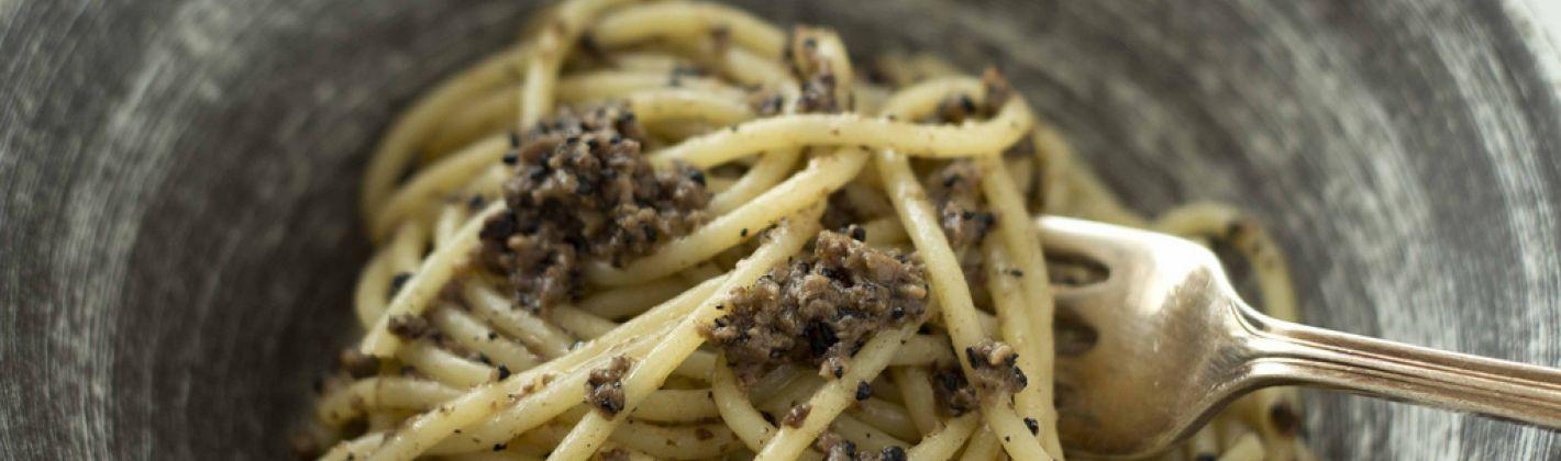 Ricetta pasta al tartufo di norcia