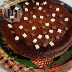 Cheesecake con cioccolato al latte
