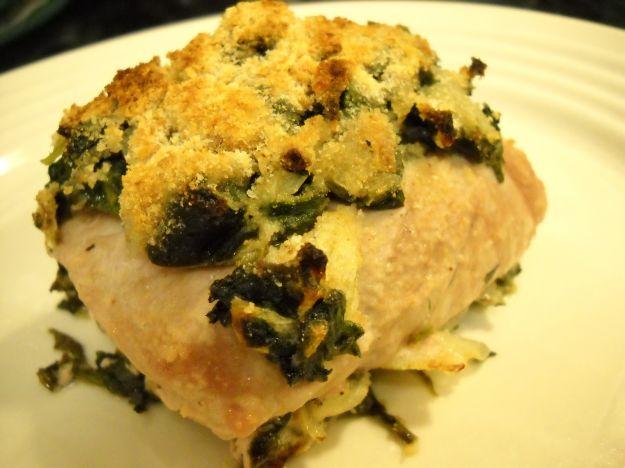 Ricetta pesce persico con spinaci al forno