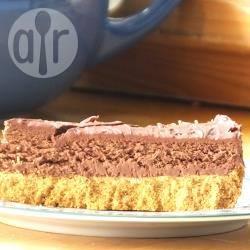 Cheesecake al cioccolato senza uova