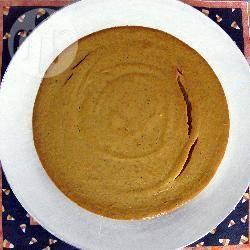 Cheesecake alla zucca speziata