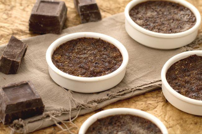 Ricetta creme brulèe al cioccolato