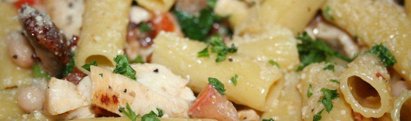 Ricetta pasta con scamorza e pancetta