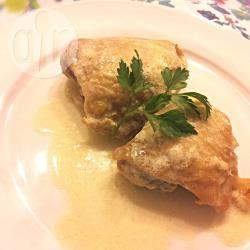 Cosce di pollo al vino bianco e panna