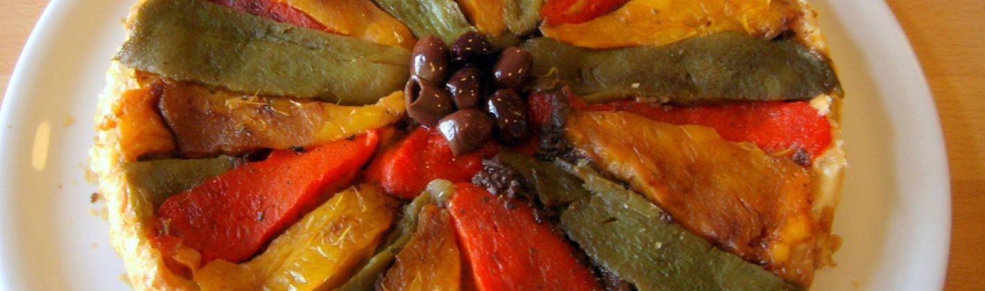 Ricetta torta salata di peperoni