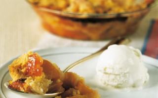 Ricetta peach cobbler