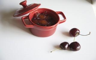 Ricetta mostarda di pesche e ciliegie