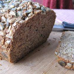 Pane senza lievito integrale
