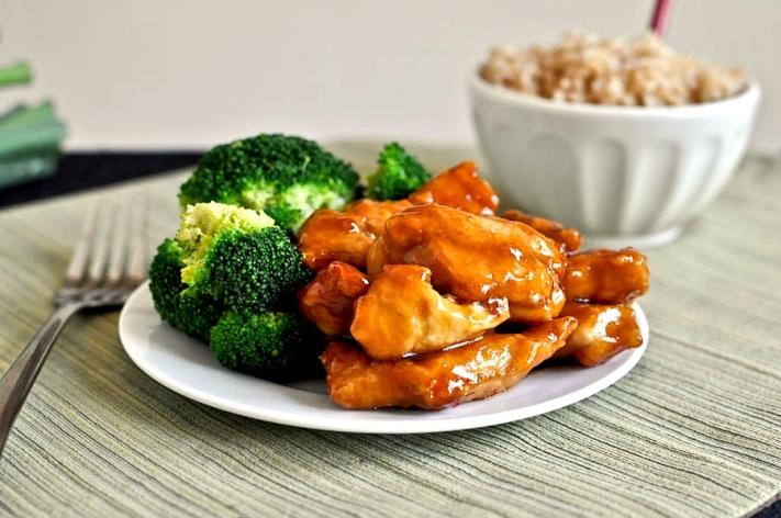 Bocconcini di pollo in salsa di soia