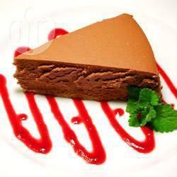 Cheesecake al cioccolato in pentola a pressione