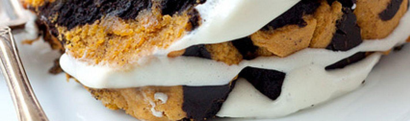 Ricetta torta di zucca e cioccolato