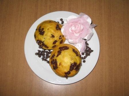 Ricetta muffin di zucca e cioccolato