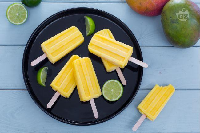 Ricetta ghiaccioli mango e lime