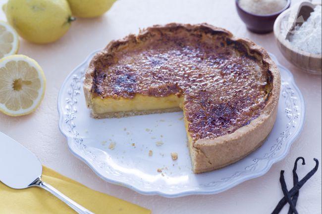 Ricetta torta brulè al limone
