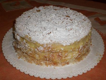 Ricetta torta millefoglie