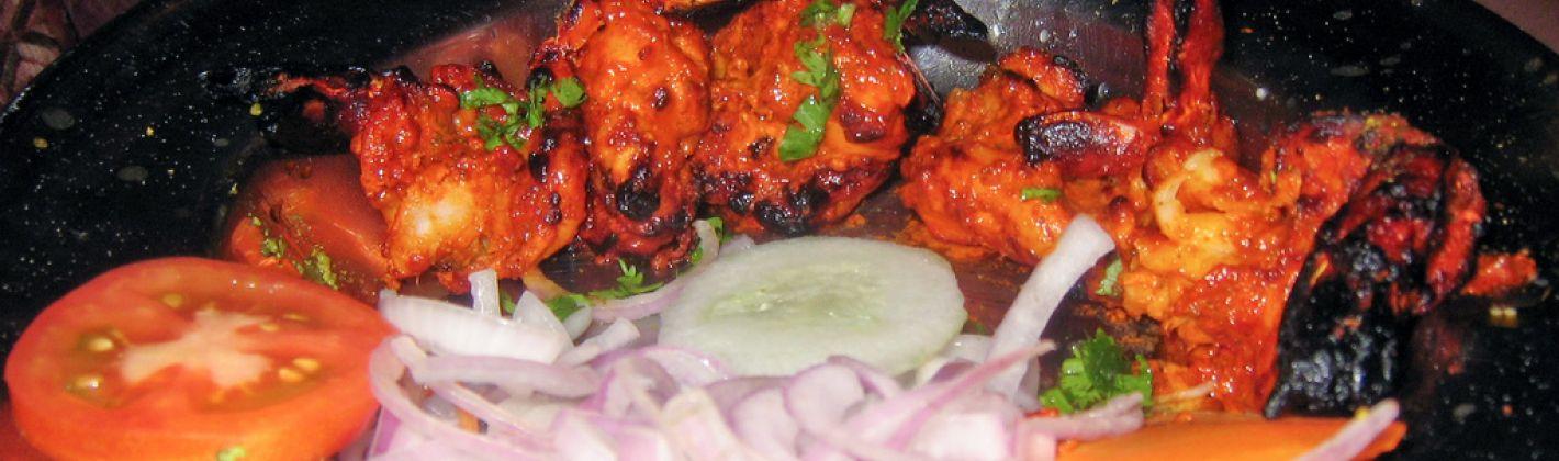 Ricetta gamberi al forno in stile tandoori
