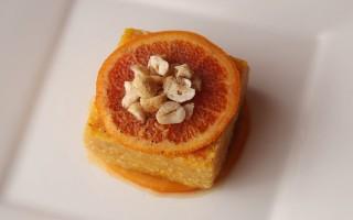 Ricetta quinoa con crema di zucca e arancia