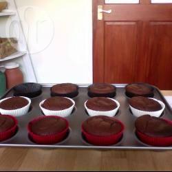 Cupcake al cioccolato senza uova