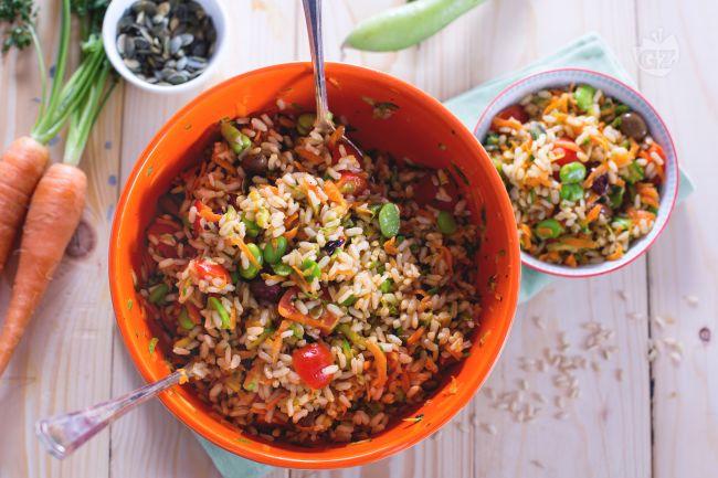 Ricetta insalata di riso integrale