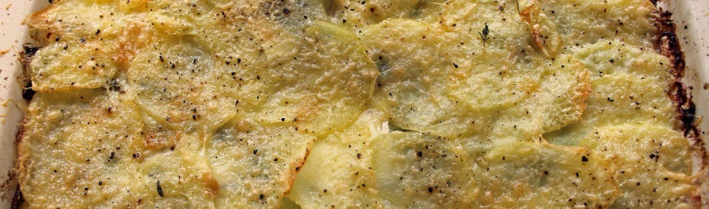 Ricetta tian di patate e carciofi