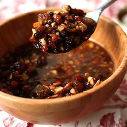 Marmellata alla frutta secca e spezie