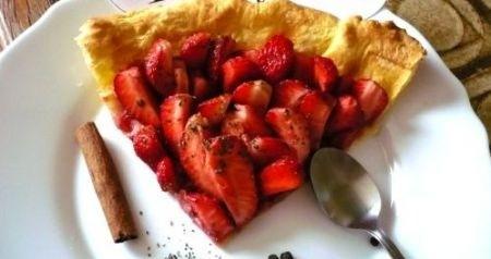 Ricetta crostata di fragole al balsamico